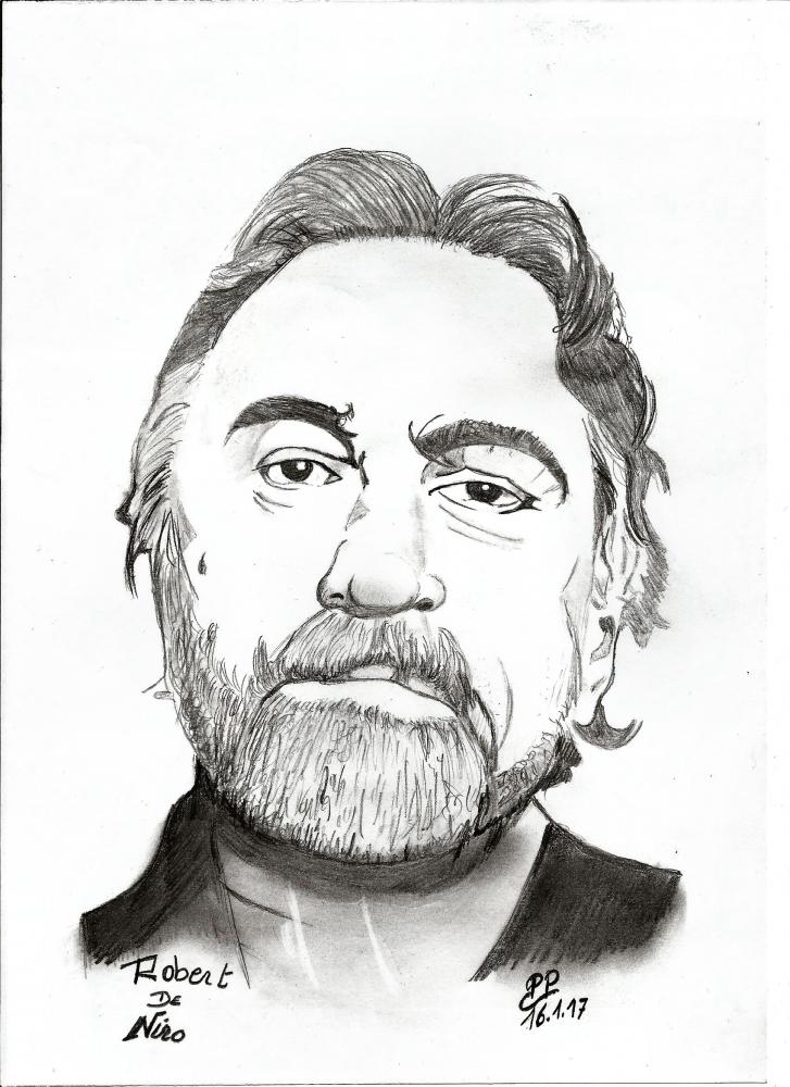 Robert De Niro by Patoux